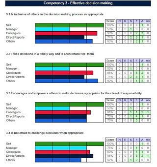 360 feedback report sample